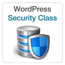 WordPress Security Class