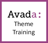 Avada Theme Settings and Builder Elements Training